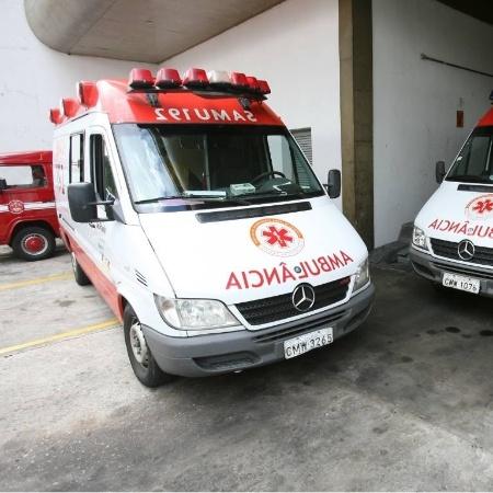 Serviço de emergência foi acionado para socorrer mulher agredida - Diego Padgurschi/Folha Imagem