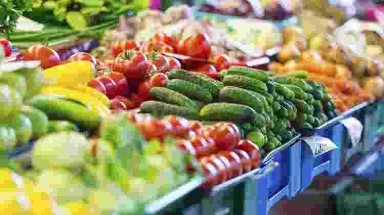 frutas, vegetais, supermercado, hortifruti, legumes - Thinkstock - Thinkstock