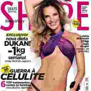 Letícia Birkheuer - atriz - capa da Shape de agosto - Danilo Borges/Divulgação Shape