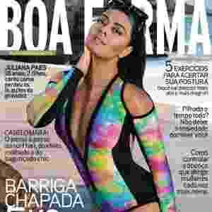 Juliana Paes - atriz -  capa da Boa Forma de agosto - Ale de Souza/Boa Forma