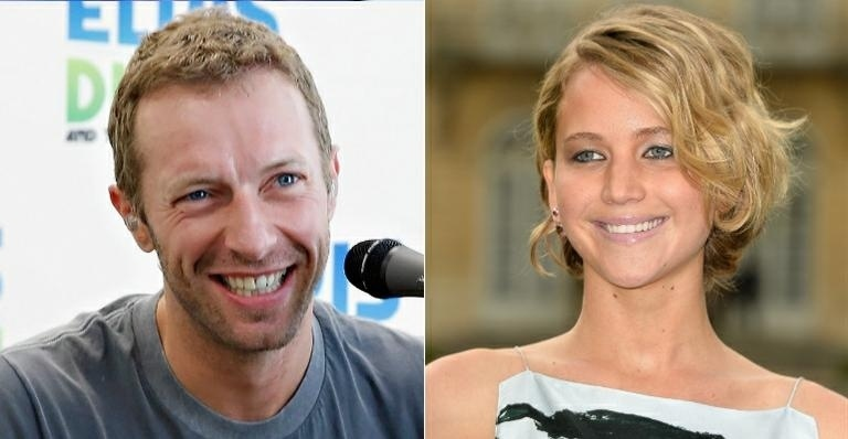 Jennifer Lawrence viajará com Chris Martin em turnê do Coldplay