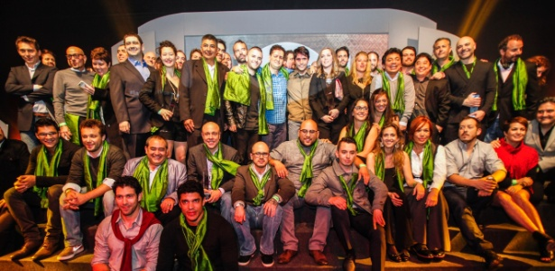 Chefs premiados no 50 Best América Latina posam para foto em Lima (Peru) - Divulgação