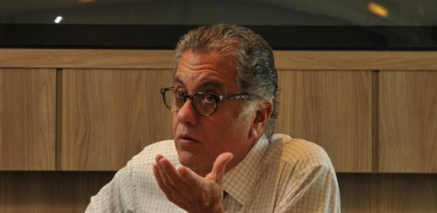 Eleito com apoio de Juvenal Juvêncio, Carlos Miguel Aidar hoje é rival político do antecessor - Karime Xavier / Folhapress