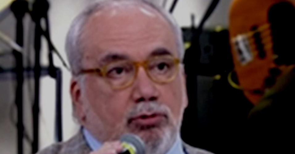 O psicanalista Francisco Daudt no programa Encontro com Fátima Bernardes (Globo)