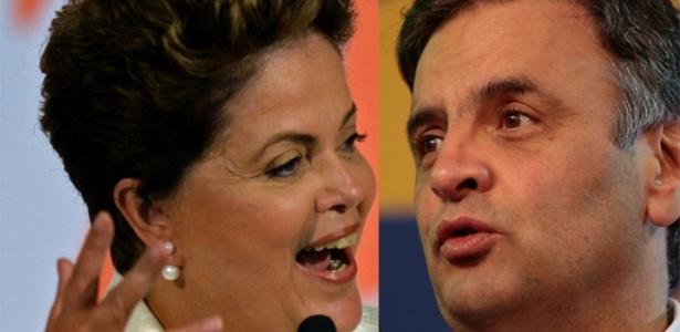 Aécio ou Dilma: Quem é favorito? - Arte UOL