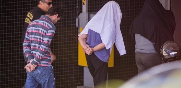 Empreiteiros chegam à sede da PF em Curitiba; empresas podem ter contas bloqueadas