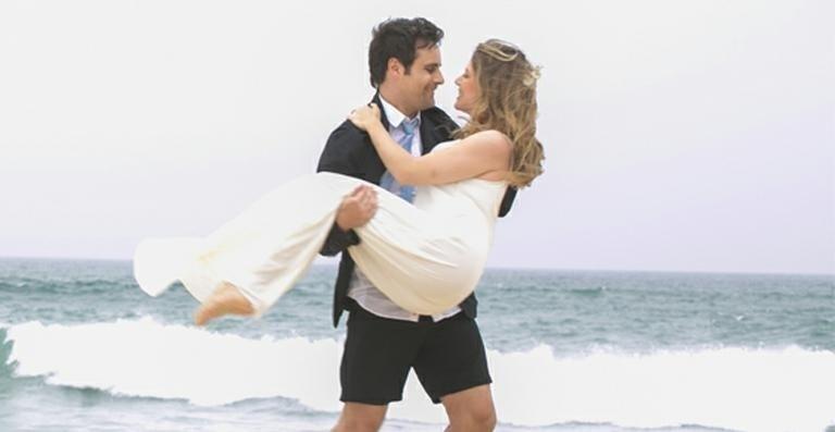 Ensaio pré-casamento de Rodrigo Scarpa, o Vesgo, e Gabi Baptista