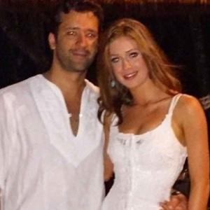 Marina Ruy Barbosa posa ao lado do namorado, o empresário Caio Nabuco