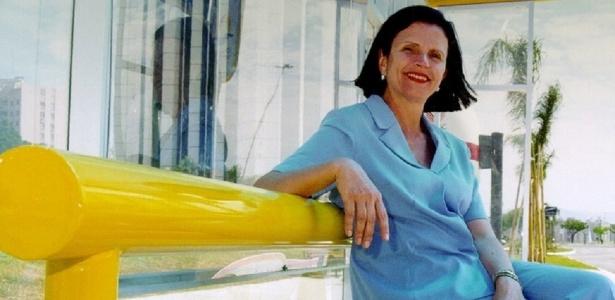 A candidata a prefeita de Florianópolis, Angela Amin (PP)