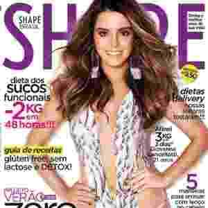 Giovanna Lancellotti - atriz - capa da Shape de dezembro - Divulgação/Shape