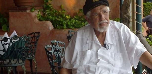 Rubén Aguirre, ator que interpretou o Professor Girafales no seriado Chaves, do SBT