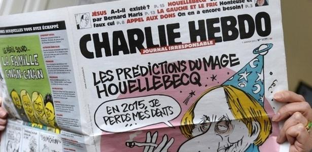 Em próxima edição, 'Charlie Hebdo' vai publicar charges de Maomé - Bertrand Guay/AFP