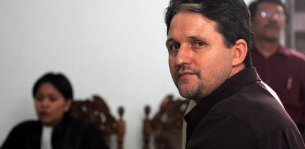O brasileiro Marco Archer Cardoso Moreira na Indonésia após ser condenado por tráfico de drogas.  - Beawiharta/REUTERS