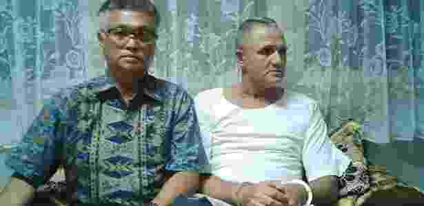 Brasileiro Marco Archer Cardoso Moreira (à dir.), dias antes da execução - Divulgação