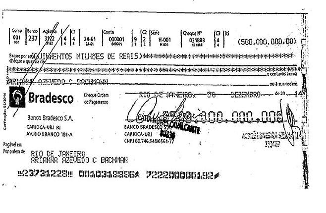 Imagem para o vídeo: Bradesco/cheque filha do Costa