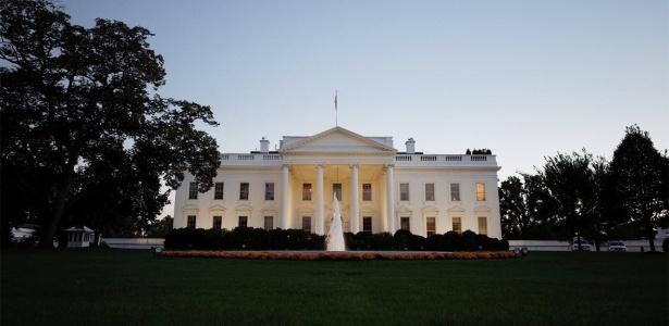 A Casa Branca, em Washington: residência oficial do presidente dos Estados Unidos