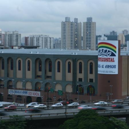 Sede da igreja pentecostal Deus e Amor no Bras, em Sao Paulo  - Tuca Vieira/Folhapress
