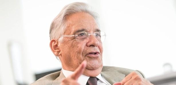 Ex-presidente Fernando Henrique Cardoso