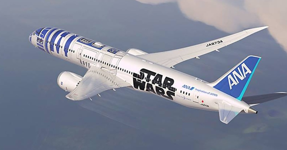 Companhia japonesa lança boeing inspirado na franquia Star Wars