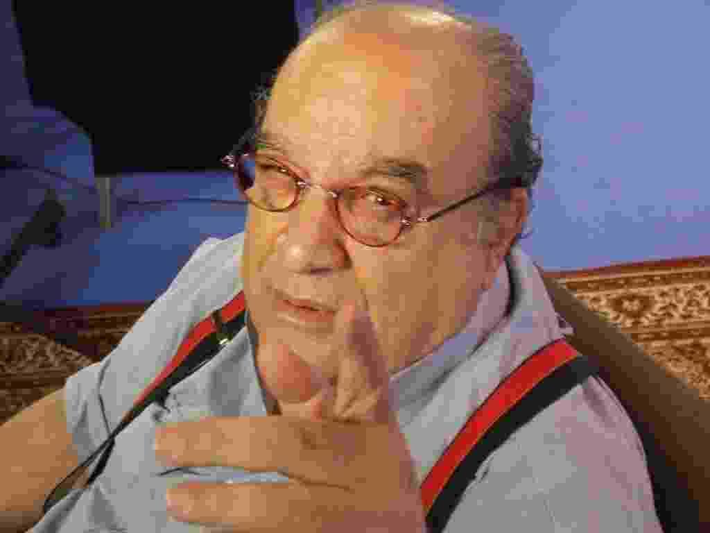 O ator, apresentador e diretor de teatro Antônio Abujamra - Divulgação