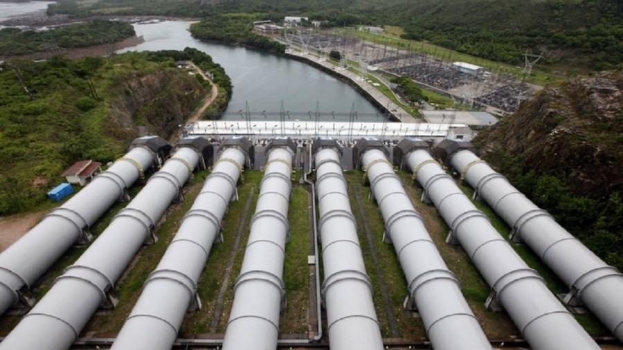 Hidrelétrica de Furnas, em São Jose da Barra (MG). O nível dos reservatórios das regiões Sudeste e Centro-Oeste segue baixo - Paulo Whitaker/Reuters