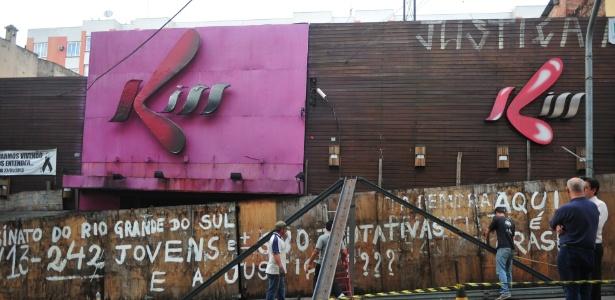 Fachada da boate Kiss, onde um incêndio em 2013 matou 242 pessoas
