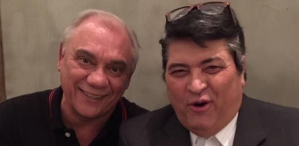 Marcelo Rezende e José Luiz Datena - Arquivo pessoal