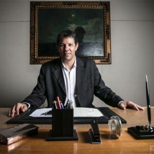 Fernando Haddad, prefeito de SP e candidato à reeleição