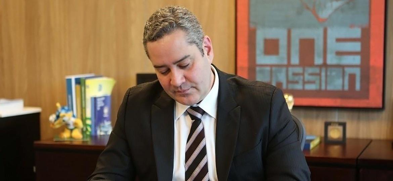 Futuro presidente da CBF e presidente do COL, Rogério Caboclo tem de viver com orçamento enxuto - Rafael Ribeiro/CBF.com.br/Divulgação
