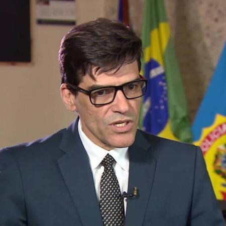 Alexandre Saraiva deixou o comando da Superintendência da PF no Amazonas - Reprodução/TV Globo