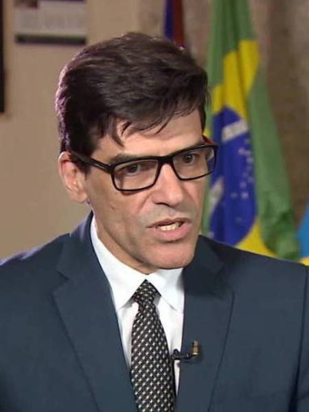 Alexandre Saraiva, ex-superintendente da PF do Amazonas - Reprodução/TV Globo