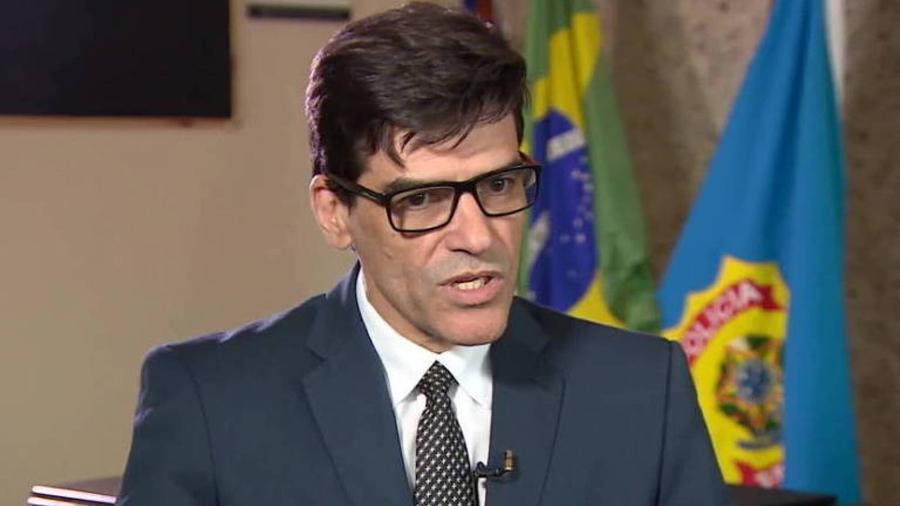 Alexandre Saraiva, chefe da PF do Amazonas - Reprodução/TV Globo