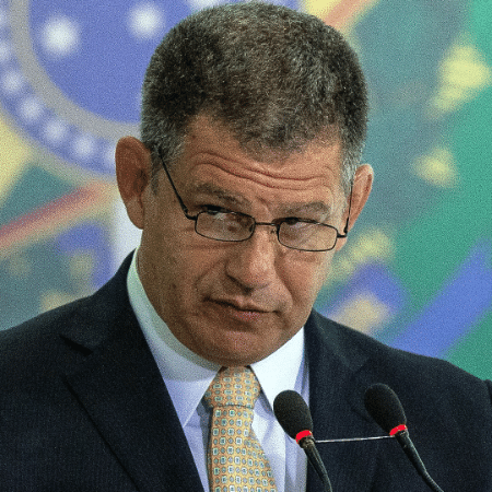 O ministro Gustavo Bebianno está no centro de uma crise envolvendo o PSL, partido do presidente Jair Bolsonaro - Eduardo Anizelli/Folhapress, PODER