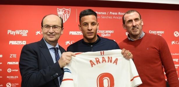 Clube espanhol entende que Arana precisa reforçar o físico antes de estrear
