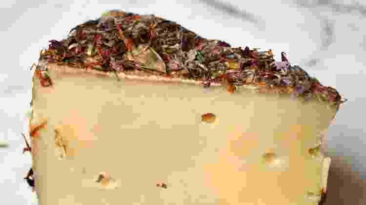 O queijo Alp Blossom leva diferentes especiarias que o deixa com um gosto único - Reprodução/murrayscheese - Reprodução/murrayscheese