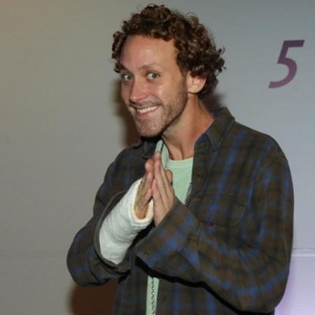 O ator Sergio Hondjakoff - Manuela Scarpa/Photo Rio News