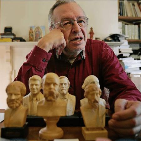 O filósofo Olavo de Carvalho - Vivi Zanatta/Folhapres