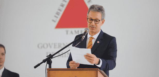 Romeu Zema governador de Minas Gerais - Cristiane Mattos / O Tempo