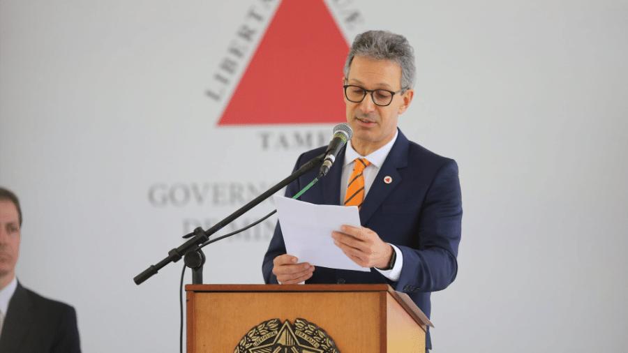 Romeu Zema governador de Minas Gerais, deve anunciar ainda nesta quinta-feira (18) a suspensão de cortes de energia - Cristiane Mattos / O Tempo