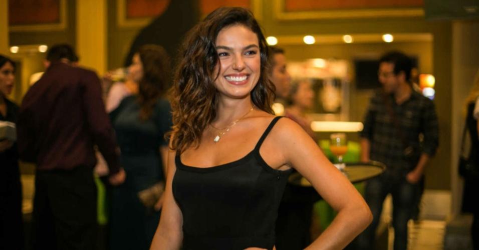 Isis Valverde, atriz - Pre-estreia para convidados do musical Wicked 03.03.2016