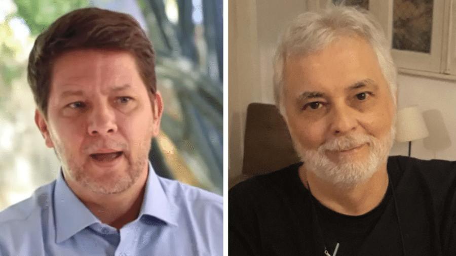 Mário Frias e Raul Milliet - Reprodução do YouTube e Divulgação