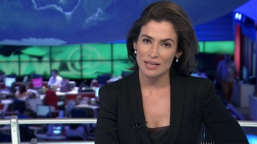 """A carioca Renata Vasconcellos, âncora do """"JN"""", já fez seu vídeo da campanha O Brasil Que Eu Quero - Reprodução/TV Globo"""