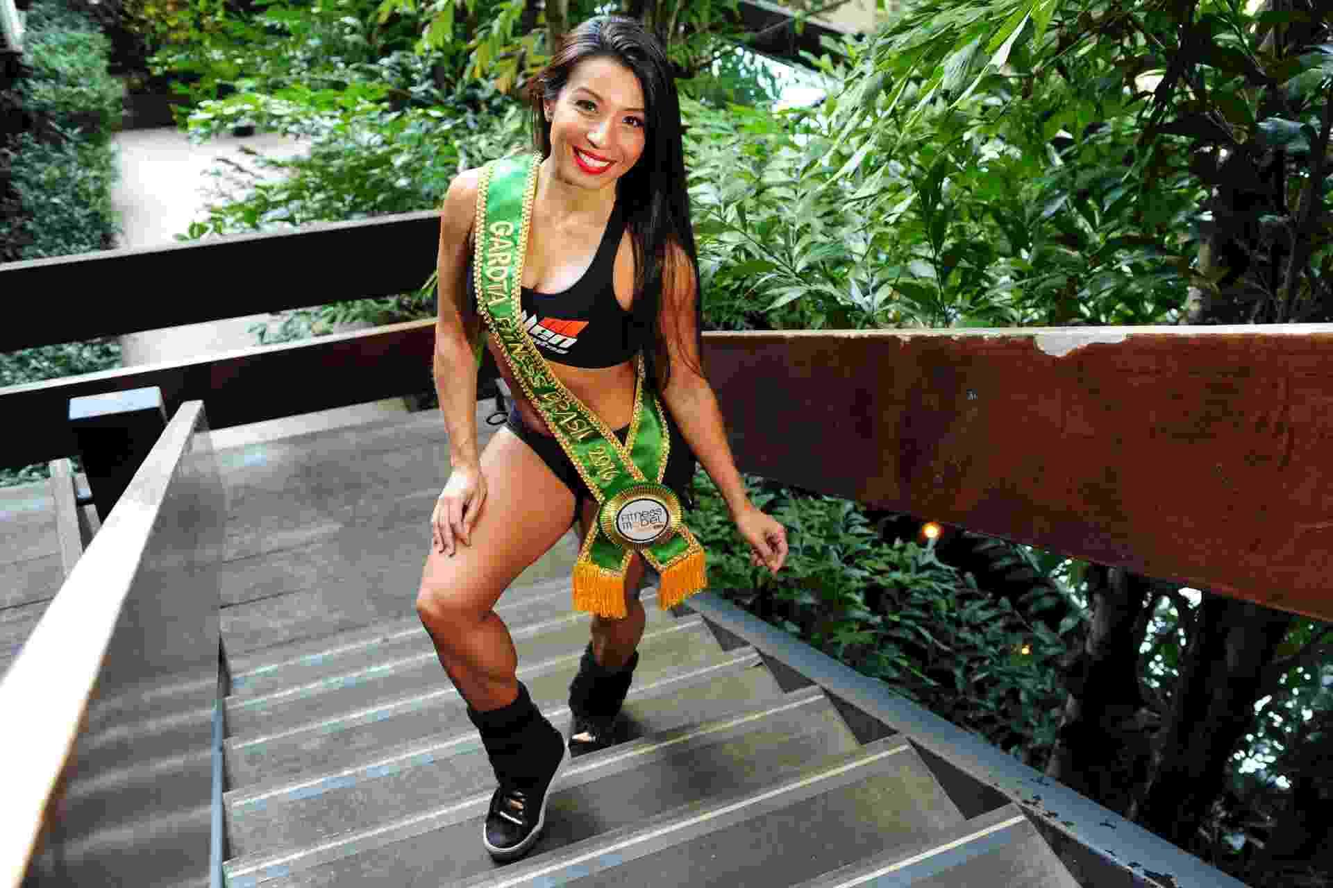 Erika Maruyama, a Garota Fitness Brasil 2016 - Junior Lago/UOL