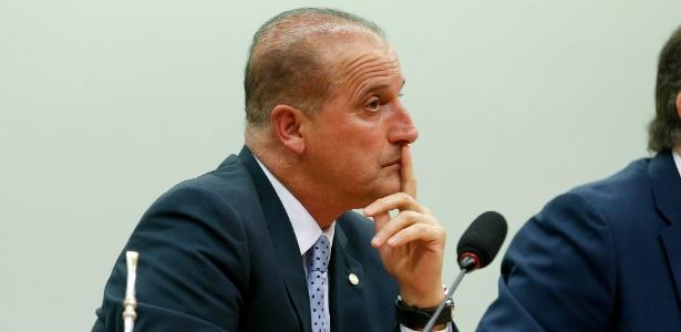 O relator do projeto de medidas anticorrupção, Onyx Lorenzoni (DEM-RS)