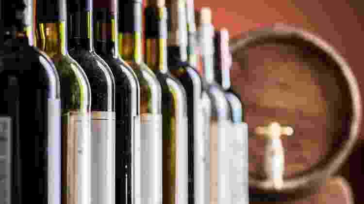 Garrafas de vinho, getty, vinhos, bebida alcoólica - iStock/Getty Images - iStock/Getty Images