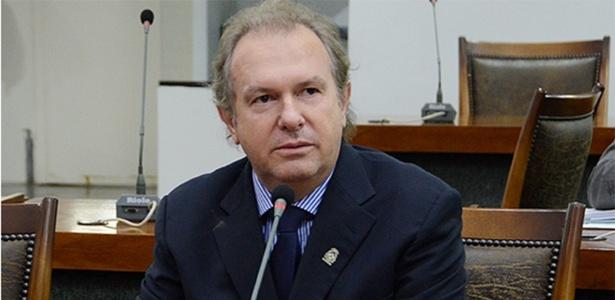 O governador interino Mauro Carlesse (PHS)  - Clayton Cristus /Divulgação