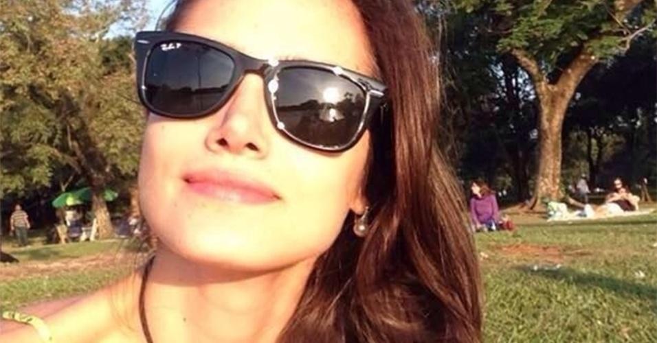 2.set.2015 - A modelo gaúcha Mariana Livinalli Rodriguez, 25, foi atropelada por um ônibus enquanto pedalava na avenida Faria Lima, na zona oeste de São Paulo, nesta terça-feira (2)