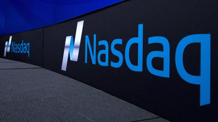 Logotipo da Nasdaq, Bolsa de Valores eletrônica e reúne ações de empresas de eletrônica, informática, telecomunicações e biotecnologia - Brendan McDermid/Reuters