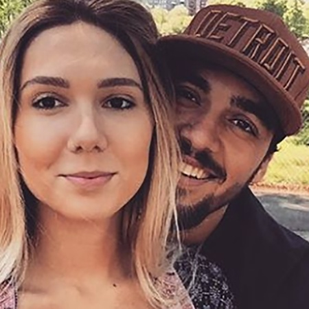 Carol Portaluppi, filha de Renato Gaúcho, e Pedro Ortega - false