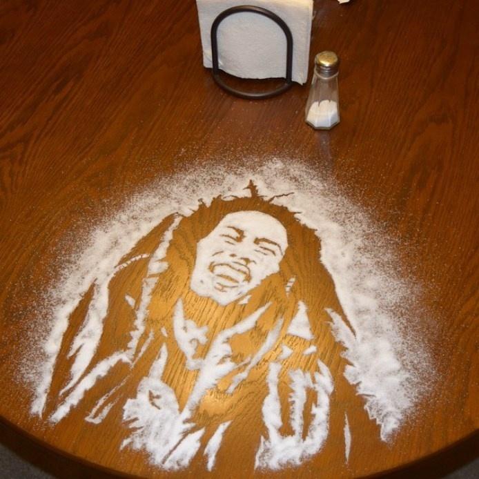 Bob Marley com sal